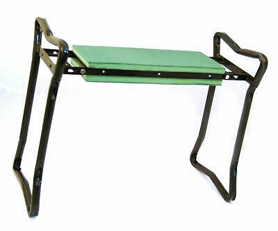 GREEN BLADE GARDEN KNEELER & SEAT PADDED STOOL IDEAL FOR GARDEN FLOOR SCRUBBING