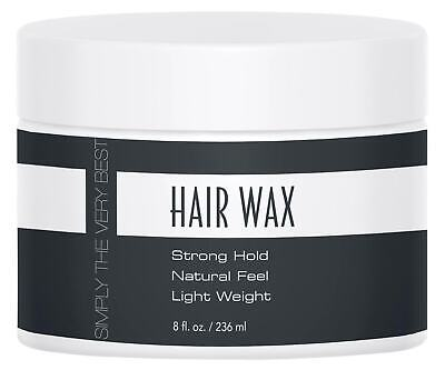 NEW SVB for Men Wax 8 fl oz Simply The Very Best (Best Wax For Men)