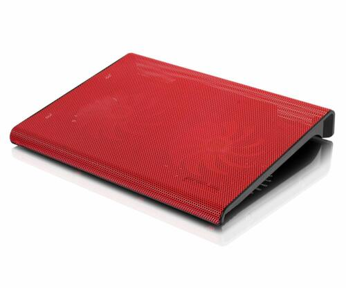 Aluratek 17-inch Slim USB Laptop Cooling Pad Fan - Red