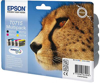 >> Epson Original T0715 Druckerpatronen Mehrfachpackung >>