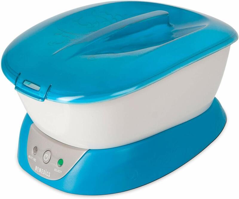 Homedics Paraffin Wax Bath Warmer Hand Foot Soothing Spa with 20 Liners 3Lbs Wax