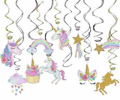 Rainbow Birthday Party Decorations (Girls Pastel Unicornio Rainbow Party Supplies Decorations Unicorn Birthday-30)