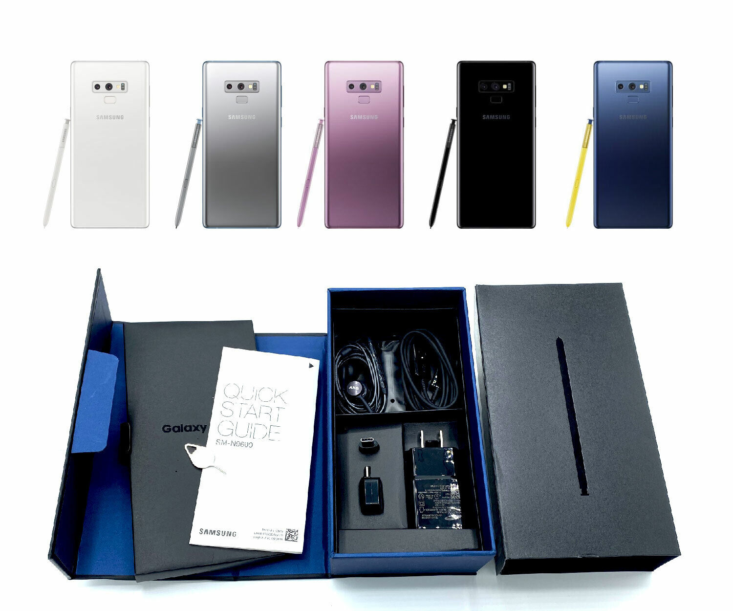 Android Phone - UNUSED Factory Unlocked Samsung Galaxy Note 9 128GB Verizon T-Mobile AT&T Sprint