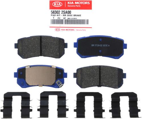 HYUNDAI OEM 14-15 Tucson Brake-Rear Pads 583022SA10