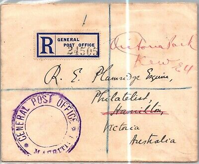 GP GOLDPATH: CANADA COVER 1935 REGISTERED LETTER _CV699_P16