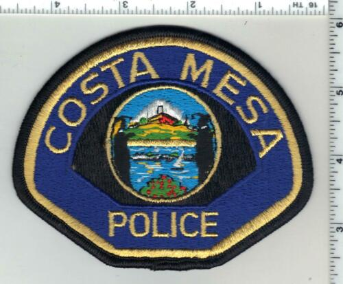 Costa Mesa Police (California) 2nd Issue Shoulder Patch