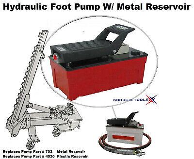 Hydraulic Foot Pump - Replaces Car O Liner Foot Pump