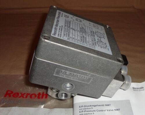 REXROTH 5610105520 PRESSURE CONTROL VALVE 561-010-552-0 PNEUMATIC NEW