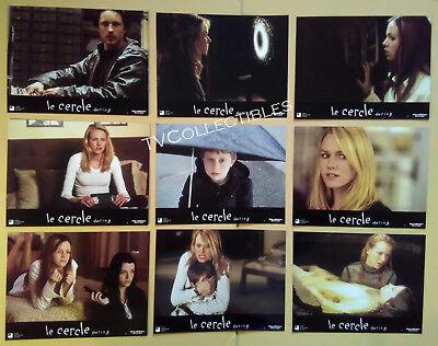 Lobby Card Set~ THE RING ~Naomi Watts ~Martin Henderson ~Brian Cox~David Dorfman