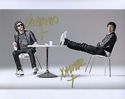 GFA Gaspard Auge & Xavier * JUSTICE * Band Signed Autograph 8x10 Photo EJ3 COA