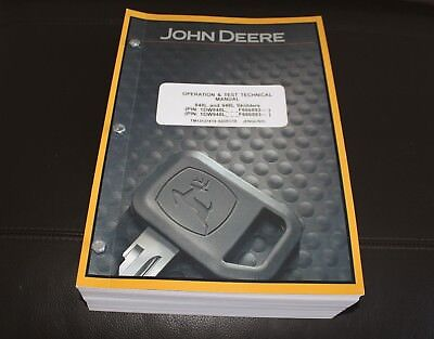 John Deere 848l 948l Skidder Service Operation Test Manual Tm13137x19