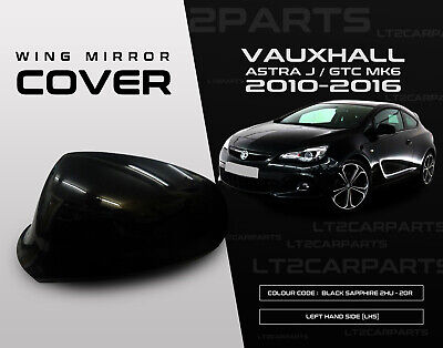 Vauxhall Astra J MK6 2010-2016 Primed Wing Mirror Covers BOTH SIDES RHS /& LHS