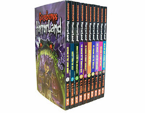Goosebumps-HorrorLand-Series-10-Set-Collection-Pack-Children-Books-R-L-STINE-NEW