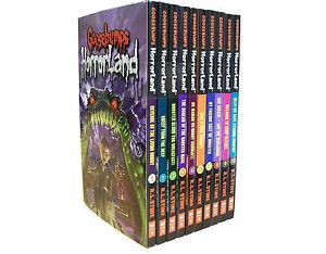 Goosebumps-HorrorLand-Series-10-Set-Collection-Pack-Children-Books-R-L-STINE-NEW