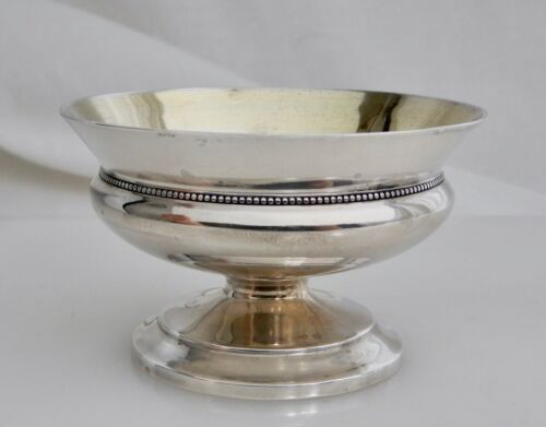 Antique Whiting Sterling Silver Footed Salt Cellar Dish - 83107