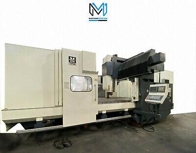 Mighty Viper Pro-3210 Cnc Vertical Bridge Mill 120 X 82 Gantry Vmc Snk Okuma