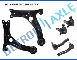 Front Lower Control Arm Ball Joint Tierods for 2000 2001 2002 2003 - 2005 Celica