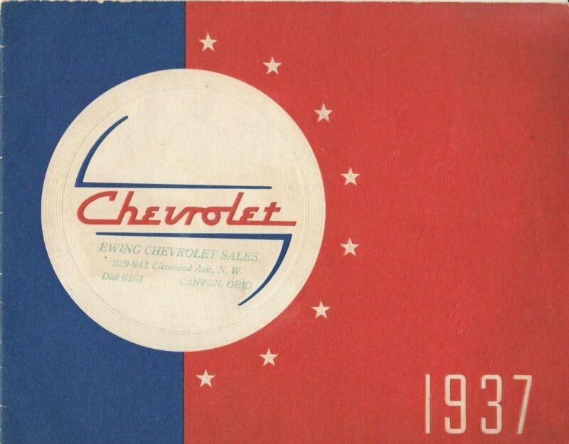 Chevrolet 1937 Dealer Sales Brochure