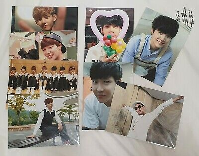 BTS 1st inauguration ceremony official LIMITED photos full set [SUPER RARE]