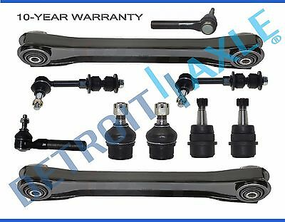 New 10pc Complete Front Suspension Kit for Dodge Ram 1500 Pick-up 4x4/4WD