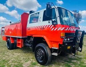 Isuzu FTS700 4x4 Dualcab/Crewcab Firetruck.  Ex NSW Rural Fire Service Inverell Inverell Area Preview