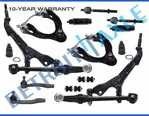 Acura Integra Suspension Ebay. 19942001 Acura Integra Front Upper Lower Control Arm Tierod Sway Bar Link Kit. Honda. 1995 Honda Civic Front End Diagram At Scoala.co