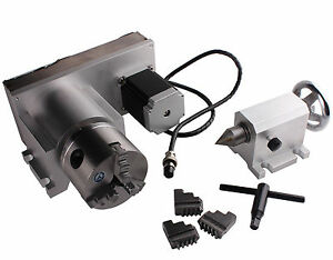 Cnc f style a axis 4th axis router rotational rotary axis for Cnc rotary table with stepper motor