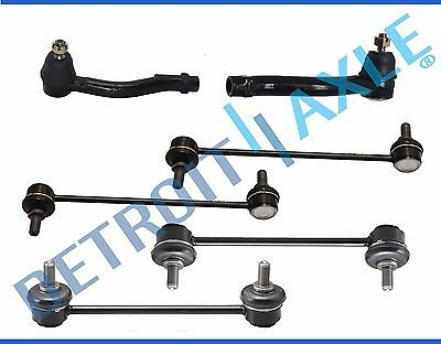 All 4 New Front  Rear Sway Bar Links  Outer Tie Rods for Kia Optima Rondo