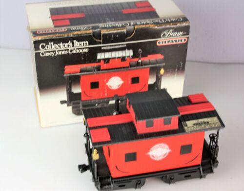 Jim Beam Casey Jones Train Caboose Empty Decanter In Box