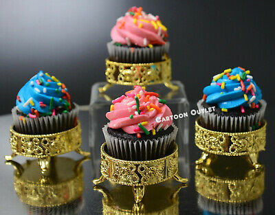 24 GOLD PARTY DESSERT TABLE FAVOR CANDY BAR BOX DECORATION WEDDING COMMUNION - Candy Bar Boxes