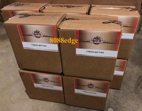 2016-17 Leaf Best Of Basketball 5 Box Case:bgs/psa Michael Jordan/lebron Auto Rc