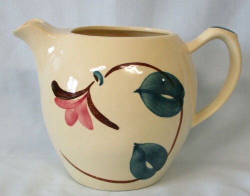 Purinton Ivy Red Teapot 6 cup NO LID
