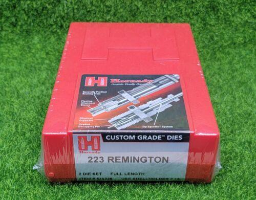 Hornady 223 Remington Custom Grade Reloading 2-Die Set Full Length - 546228