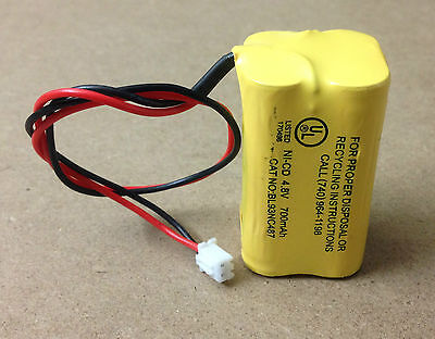 4.8v 700mah Ni-cd Battery For Emergency Light Exit Sign Battery 14-4.8vnic700