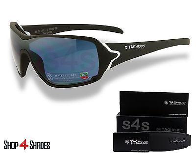 TAG Heuer Racer Sunglasses Team USA GREY_WHITE_POLARISED WATERSPORT 9201 413 68