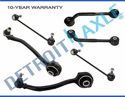 Amg Front Control Arm (New (2) Front Lower Control Arm Ball Joint & Front + Rear Sway Bar for Mercedes )