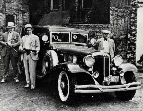 Well Armed , Mafia, Capone, Mob Boss vintage photo reproduction High quality
