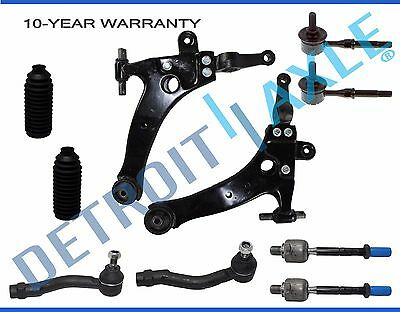 Brand New 10pc Complete Front Suspension Kit for Hyundai Sonata XG350 XG300