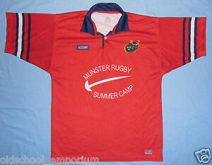 MUNSTER Rugby - Summer Camp / AZZURRI - VTG MENS training Shirt / Jersey. Size L - Poland, Polska - If an item is to be returned because you changed your mind (you do not like the color, size etc), you will have to cover the return shipping's fee. I do my best to describe the listed stuff as well as possible and the exact size numbers a - Poland, Polska