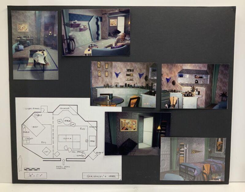 "Babylon 5 Garibaldi's Quarters Storyboard Used In Production 20"" x 16"""