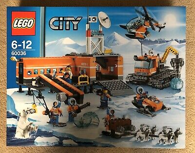 Lego City Arctic Expedition, 60036 Artic Base Camp, New & Sealed