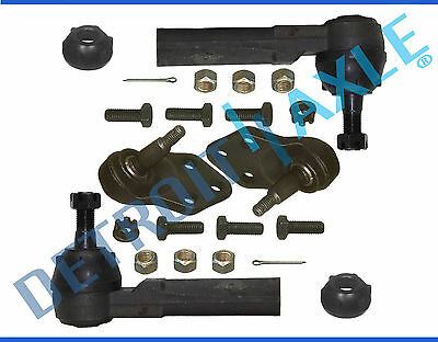 New (2) Front Lower Ball Joints & (2) Outer Tie Rod Ends For GM Vehicles Buick Park Avenue Front End