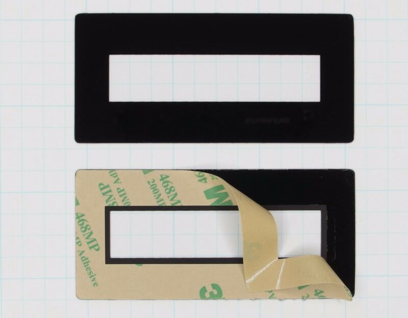 Faceplate Mounting Bezel for 2x16 LCD Displays (pkg of 3 Seetron FPL216)