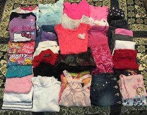 Size 4T/5T Girls Clothing (40 pieces)