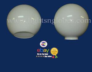 10 white round globe light fixture plastic neckless. Black Bedroom Furniture Sets. Home Design Ideas