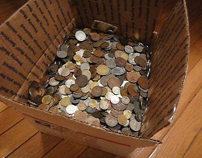 2 Pound  Bulk  World Foreign Coin Lots  Kids Love Coins   Hh