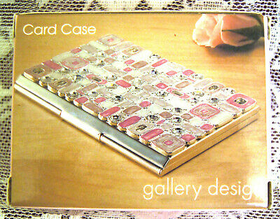 Gallery Design Bling Business Card Case