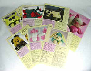 KNITTING-PATTERNS-Pyjama-Case-7-in-Collection-Soft-Toy-Patterns-Chunky