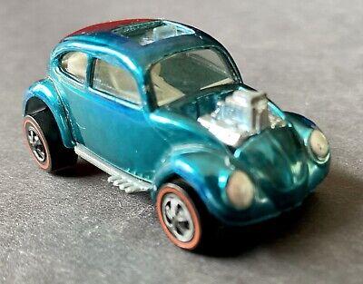 1968 INSANE Hot Wheels Redline Custom VW Volkswagen Bug SWEET 16 WHITE INTERIOR