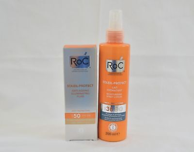 RoC Soleil-Protect Anti-Ageing Illuminating Fluid SPF 50